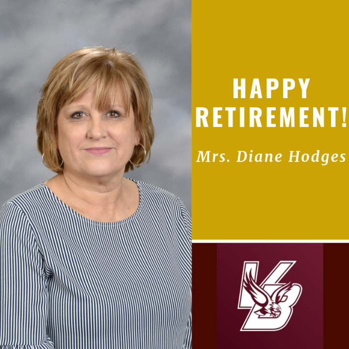 Happy Retirement Mrs. Diane Hodges
