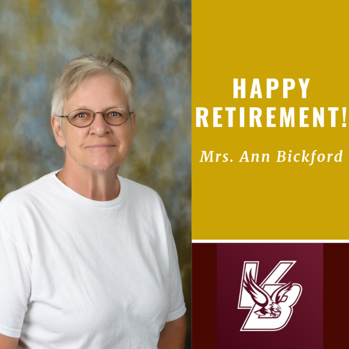 Happy Retirement Mrs. Ann!