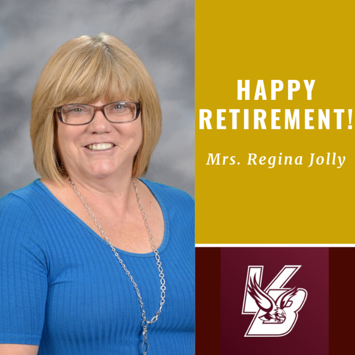 Happy Retirement Mrs. Regina!