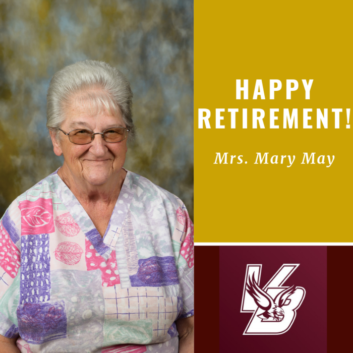 Happy Retirement Mrs. Mary!