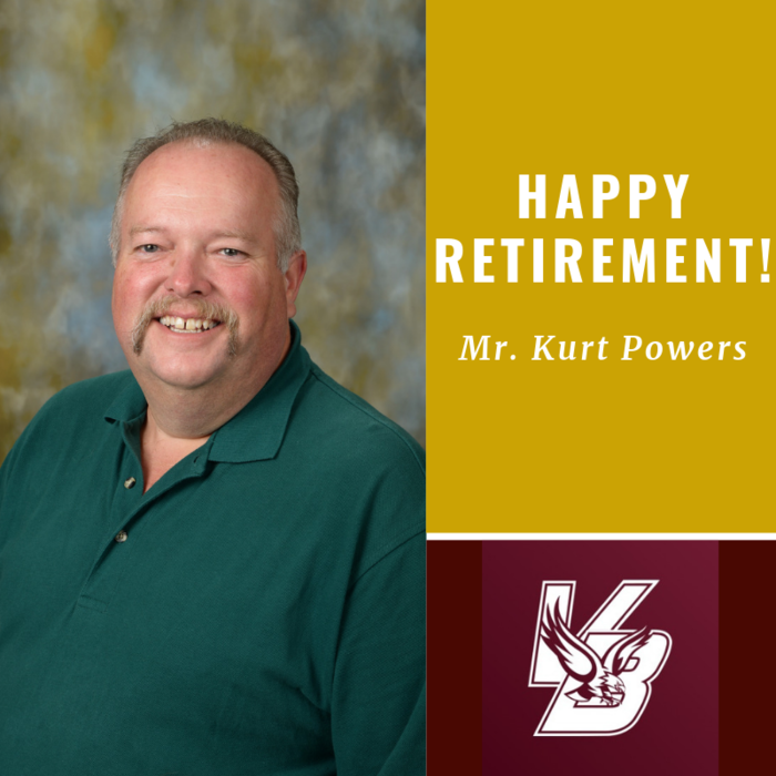 Happy Retirement Mr. Powers!