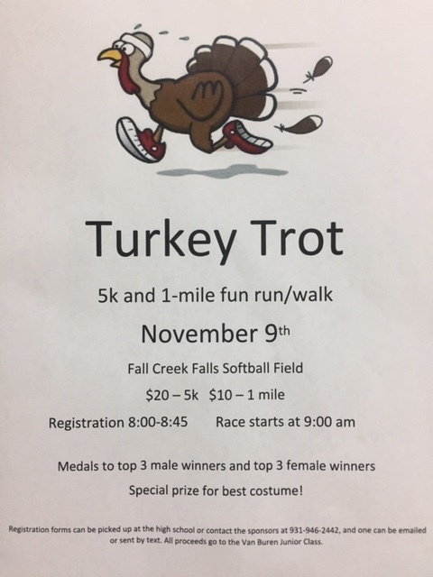 Turkey Trot Flyer