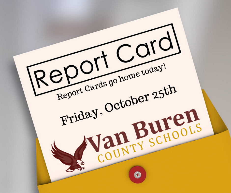 Report Cards go home today!