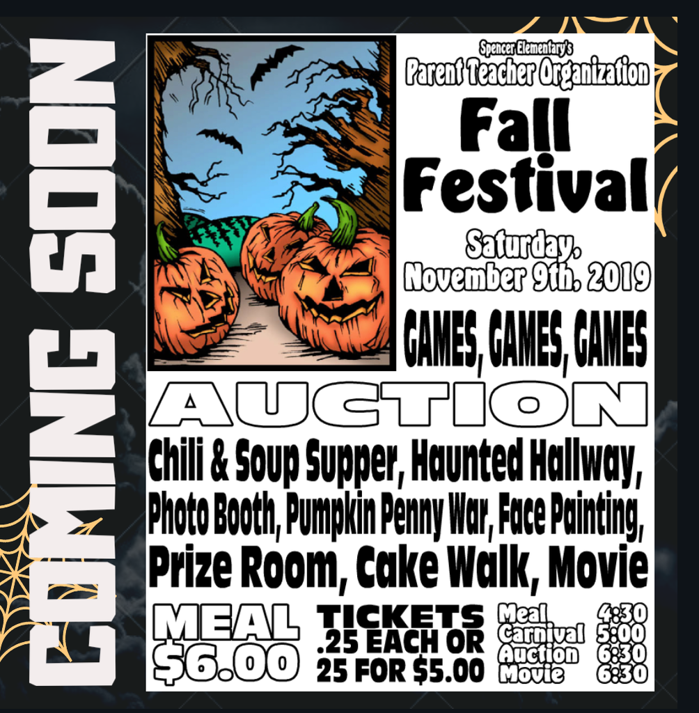 SES Fall Festival Flyer
