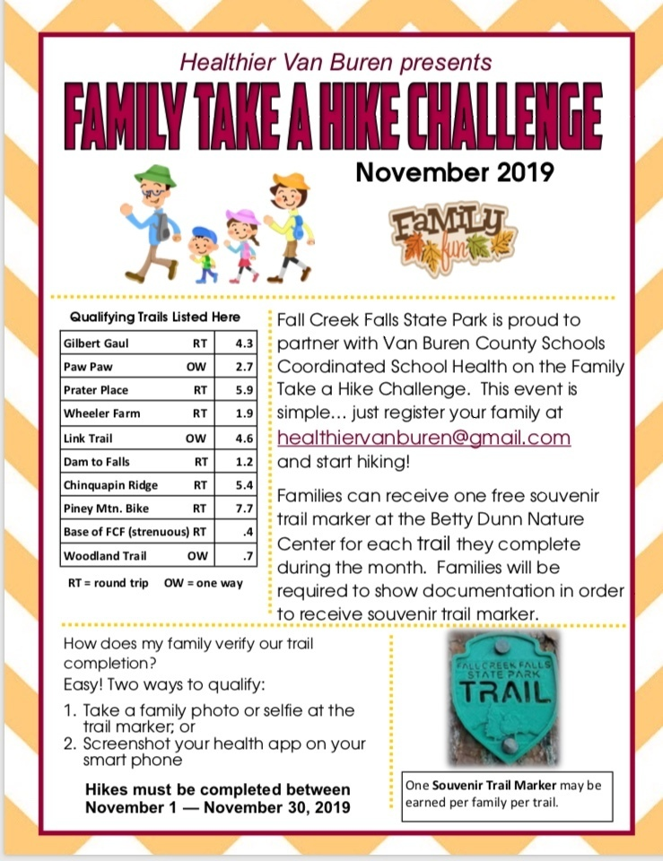 Family Take a Hike Challenge