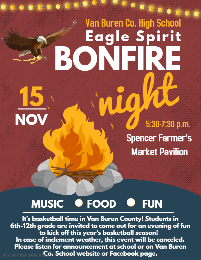 Spirit Bonfire Flyer