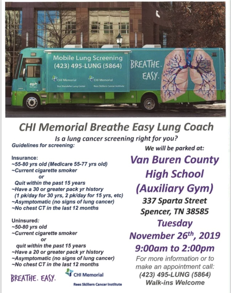 Lung Cancer Screening Flyer