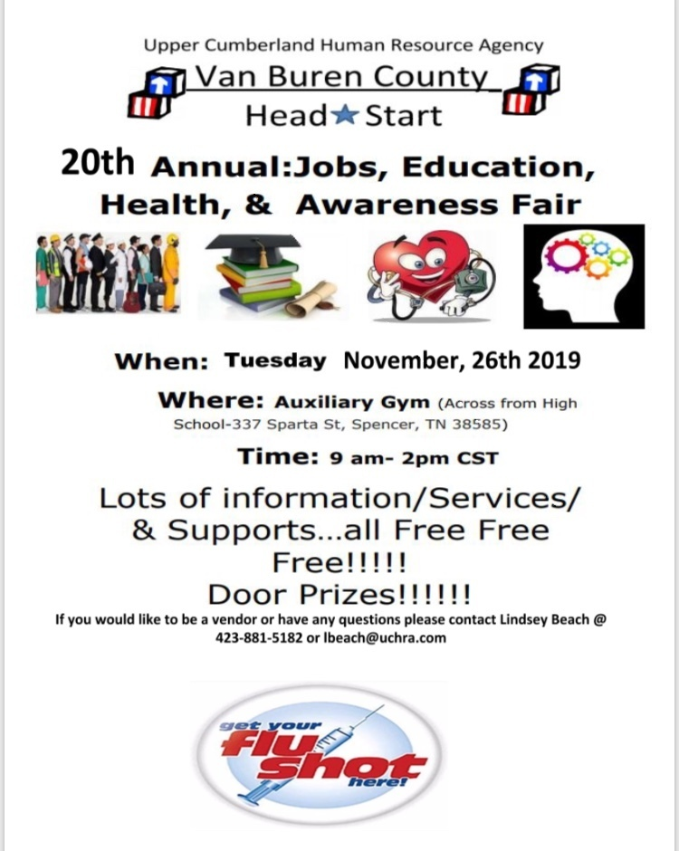 UCHRA Fair Flyer