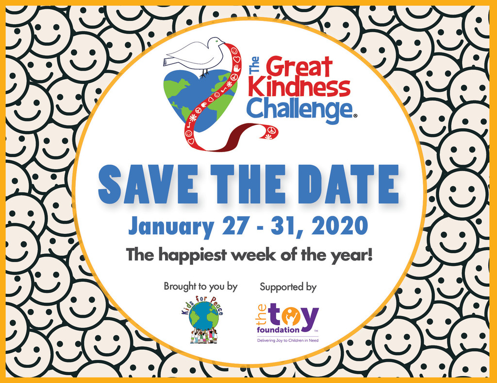 Save the Date for Great Kindness Challenge