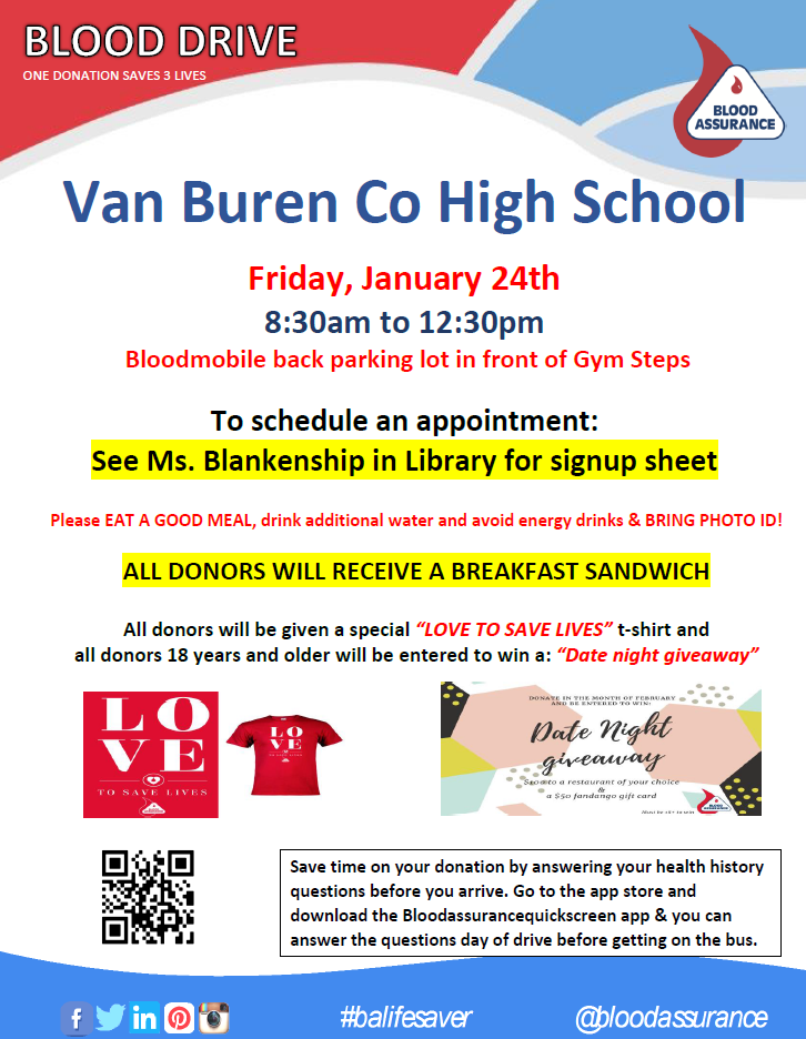Blood Drive January 2020