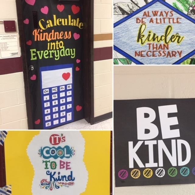 Kindness Challenge Signs
