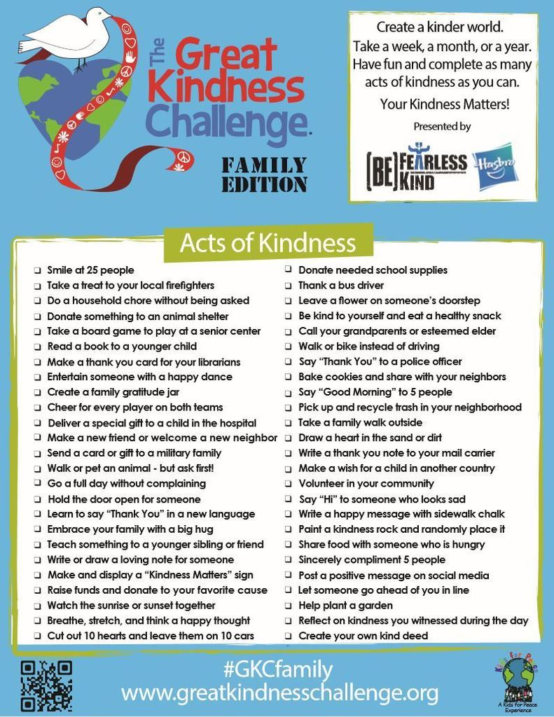Great Kindness Challenge FE
