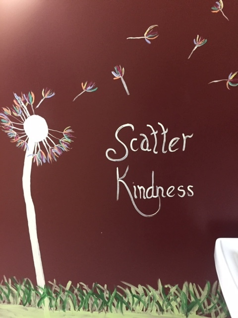 Scatter kindness mural